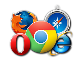 Works in all browsers
